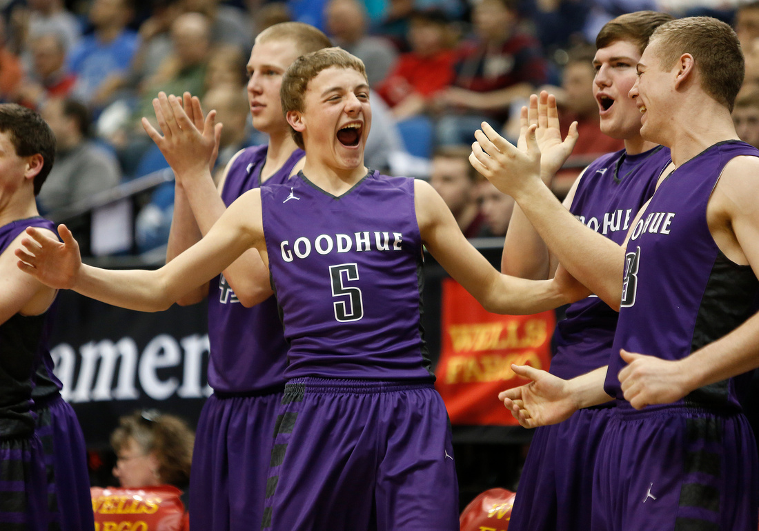 Goodhue vs. Central Minnesota Christian State Boys Basketball 04