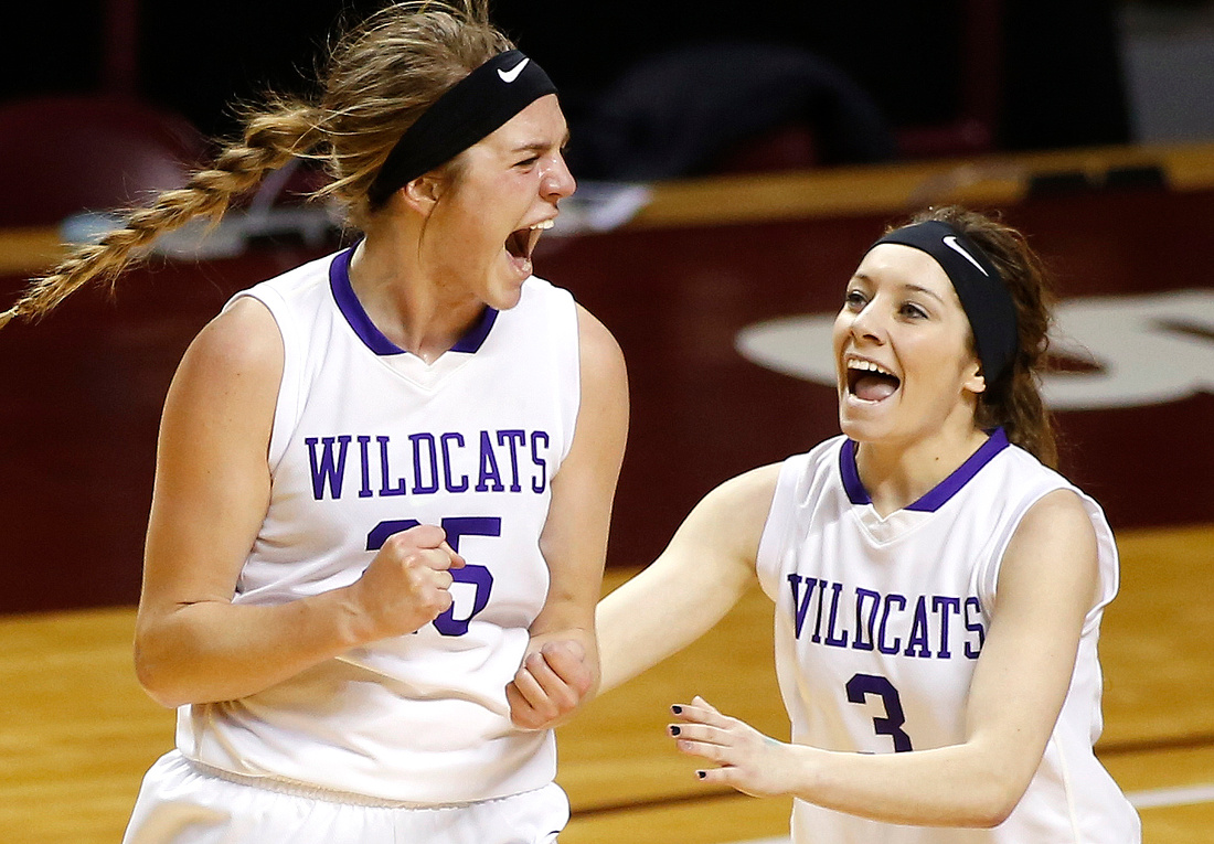 Goodhue vs. Wheaton/Herman-Norcross State Girls Basketball react